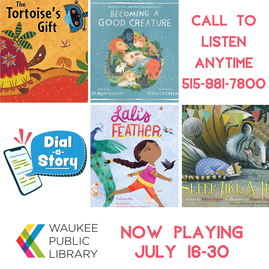 Image of Dial a Story July 16 to 30