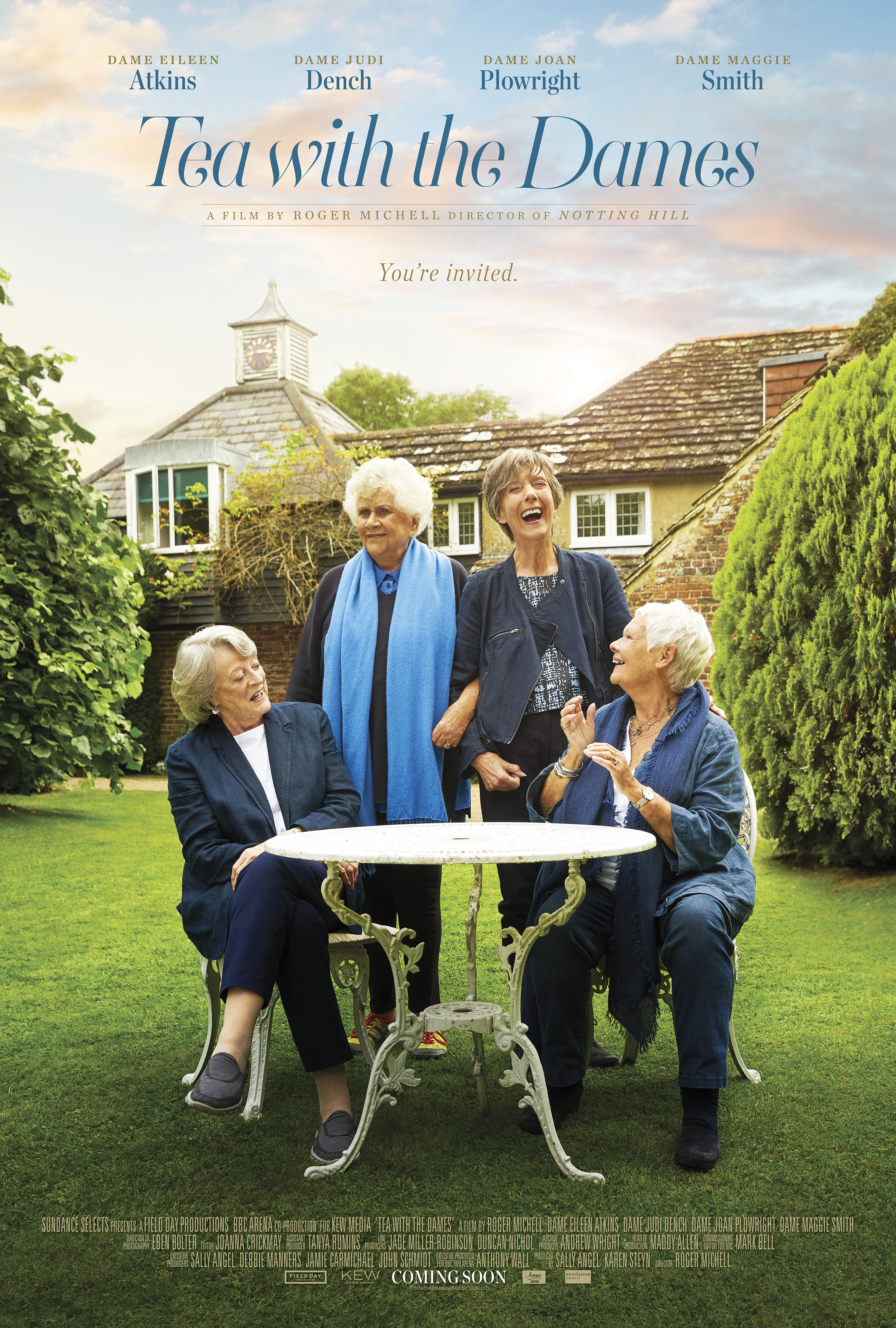 Movie Matinee: Tea with the Dames
