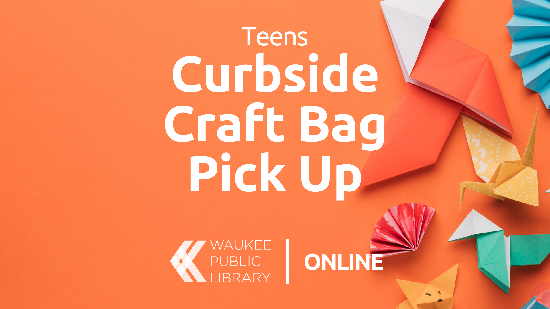 Teen Curbside Craft Bags
