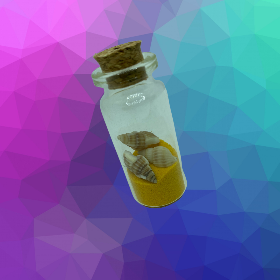 Sand In Bottle Image