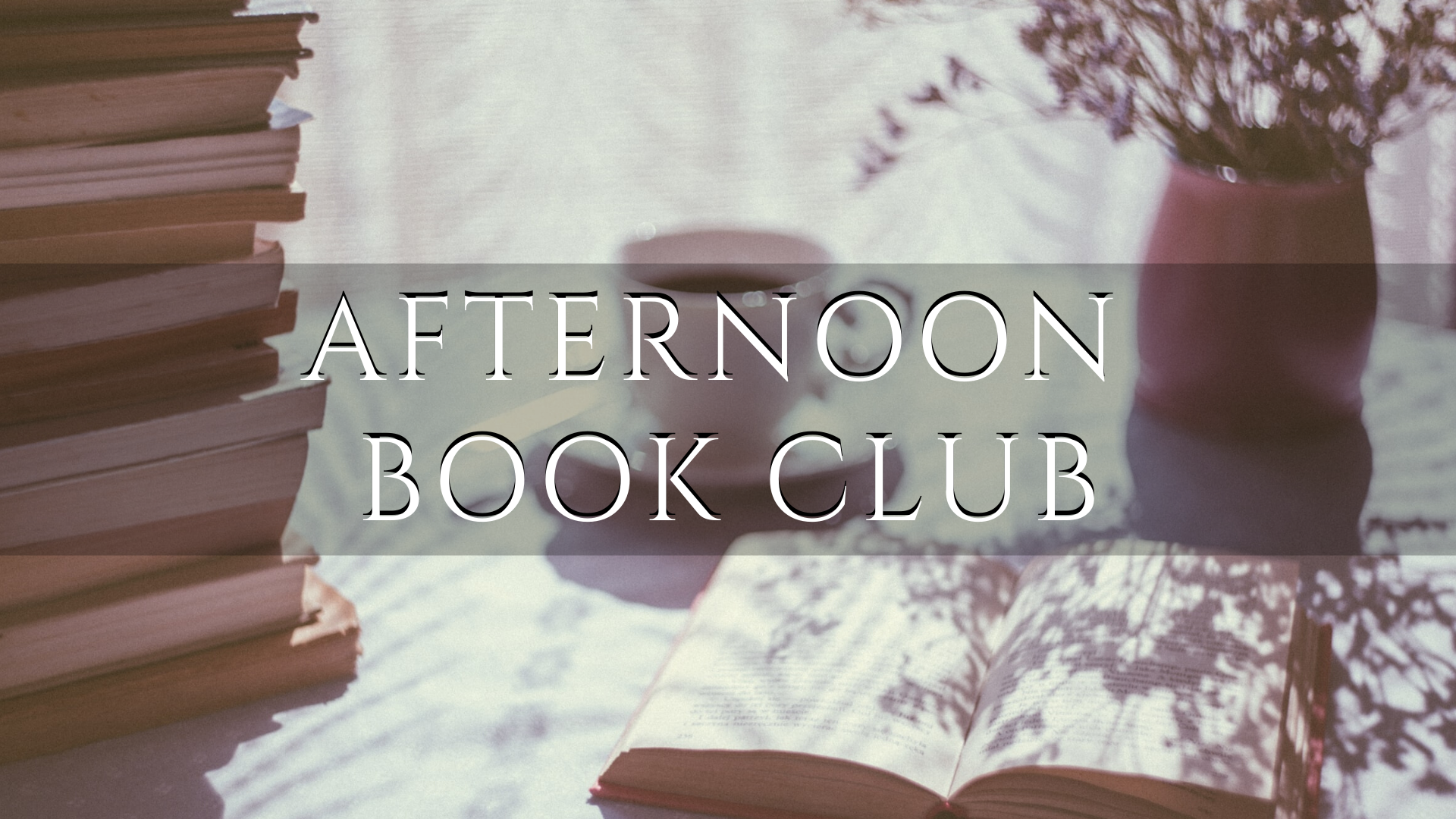 Virtual Afternoon Book Club