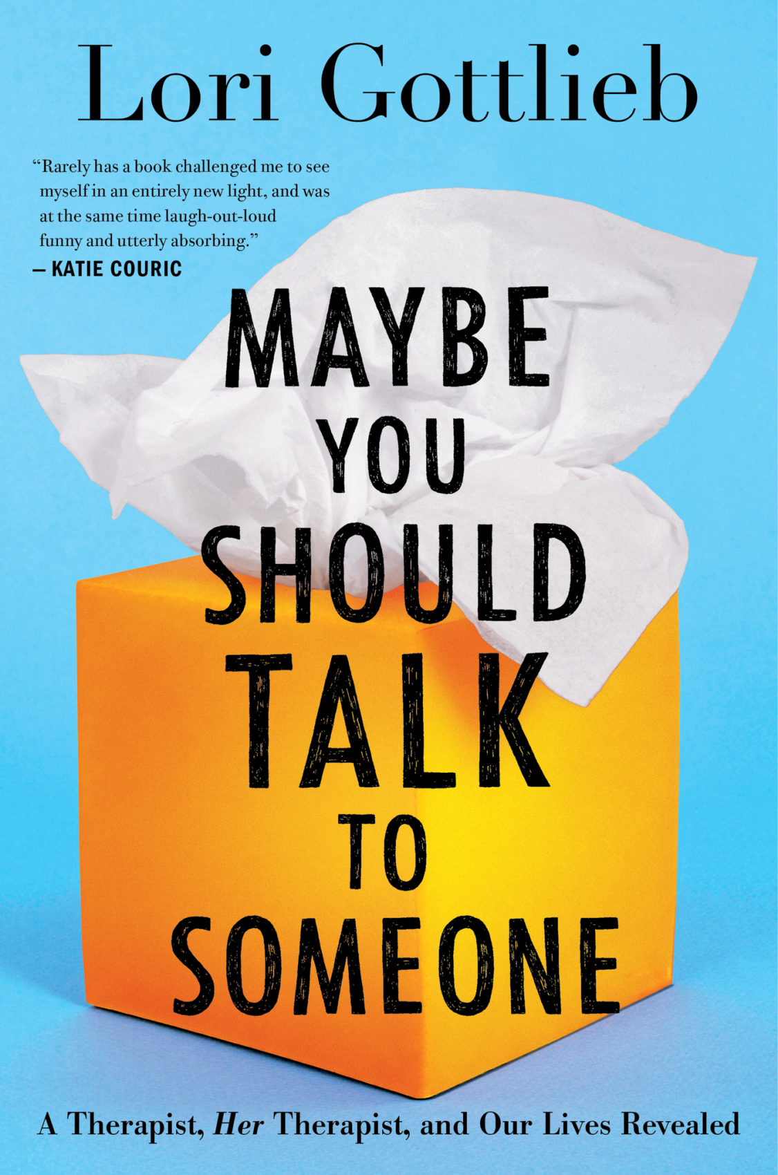 Books on Tap: Maybe You Should Talk to Someone