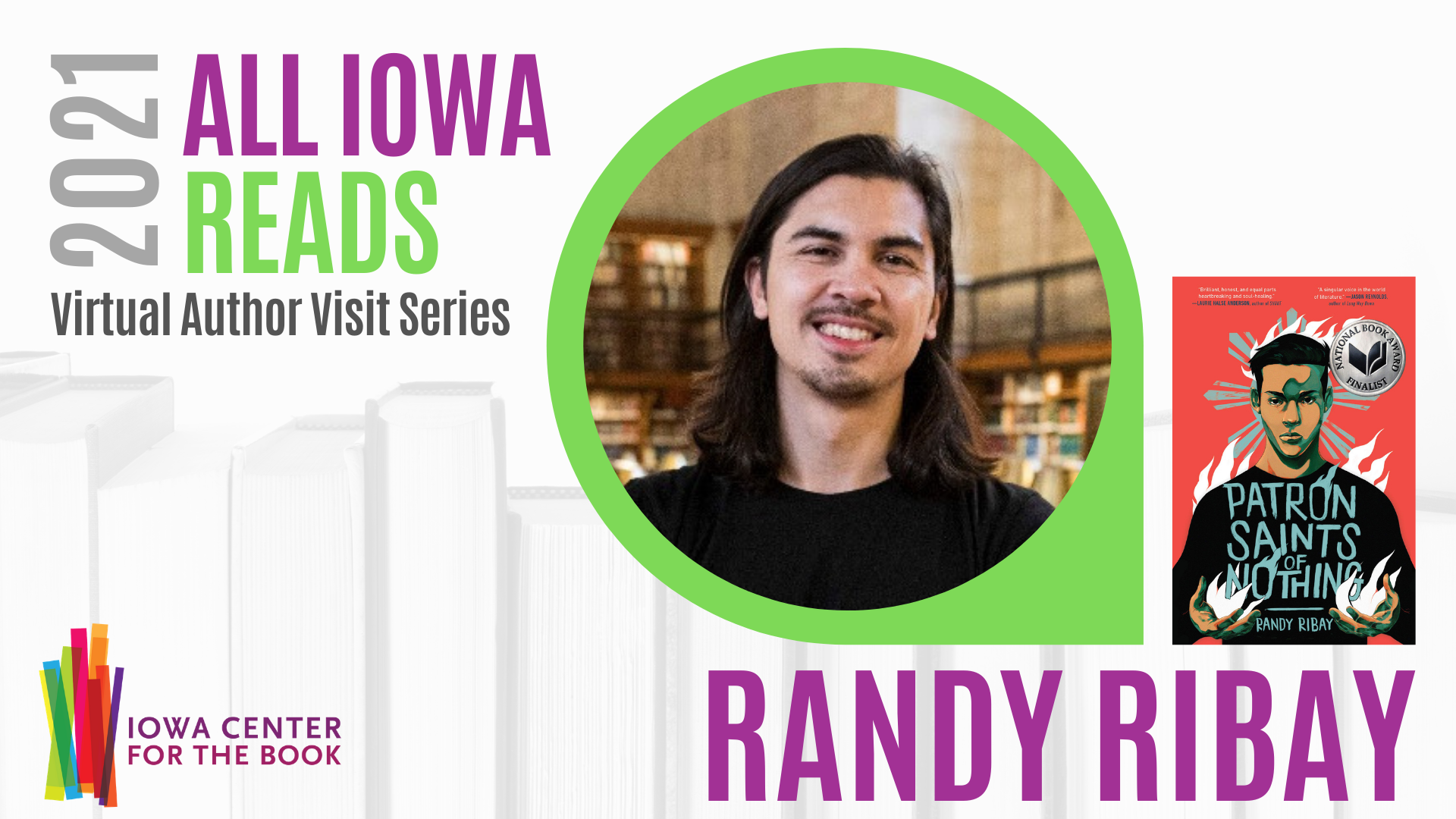 Virtual Author Visit: Randy Ribay